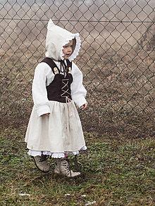 """Detské oblečenie - Ľanové šaty """"čarovná Emma"""" - 10349287_"""