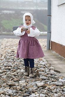 "Detské oblečenie - Ľanové šatôčky "" babičkine rozprávky"" - 10349407_"