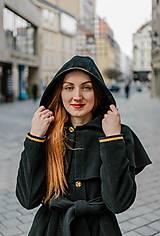 Kabáty - Upcycle zimný kabát SEVERANKA - 10348142_