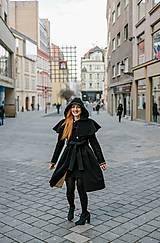 Kabáty - Upcycle zimný kabát SEVERANKA - 10348144_
