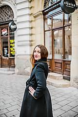 Kabáty - Upcycle zimný kabát SEVERANKA - 10348145_