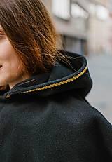 Kabáty - Upcycle zimný kabát SEVERANKA - 10348146_