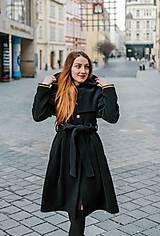 Kabáty - Upcycle zimný kabát SEVERANKA - 10348147_