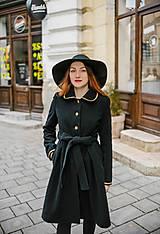 Kabáty - Upcycle zimný kabát SEVERANKA - 10348152_