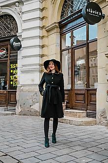 Kabáty - Upcycle zimný kabát SEVERANKA - 10348151_