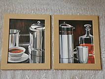 Obrázky - Sada obrázků - Konvice a káva 1 - 10350507_