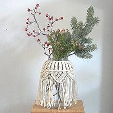 Dekorácie - obal na vázu - 10349029_