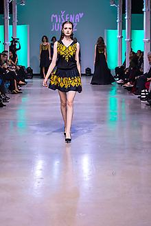Šaty - Kolekcia Inšpirácie - modrotlač - 10349448_