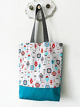 Nákupné tašky - Lampiónová taška - 10349344_