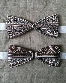 Doplnky - Pánsky motýlik folklórny. - 10348962_
