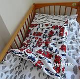 Úžitkový textil - Obliečky šité na objednávku - 10349611_