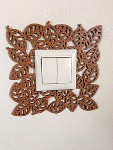 Rámiky - Dekoratívna podložka pod vypínač / zásuvku - 10351201_