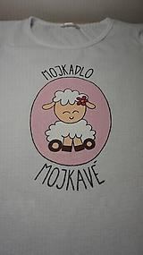 Tričká - Tričko / body MOJKADLO MOJKAVÉ - 10348269_