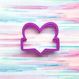 Vykrajovačka Srdce menovka