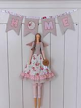 Bábiky - Sweet Home, ... anjelka s trochou romantiky:) - 10349049_