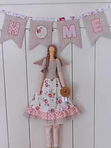 Bábiky - Sweet Home, ... anjelka s trochou romantiky:) - 10349057_