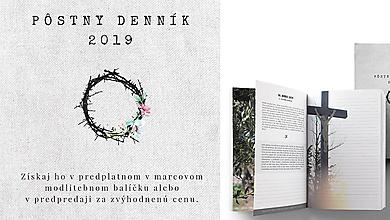 Papiernictvo - Pôstny denník 2019 - 10348894_