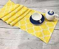 Úžitkový textil - ŠTÓLA, BEHÚŇ, OBRUS - 10350725_