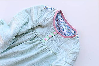 Detské oblečenie - košuľka Ruženka Šípkovie Pavučinková - 10350980_