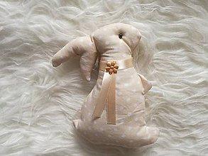 Dekorácie - Veľkonočný Susugo zajac. - 10348416_