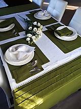 Úžitkový textil - Ľanový obrus Passion - 10350830_