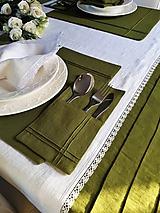 Úžitkový textil - Puzdro na príbor Obsession - 10350922_
