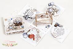 Papiernictvo - Darčeková krabička k narodeniu bábätka I - 10355042_