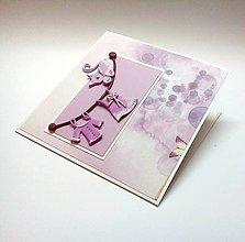 Papiernictvo - Pohľadnica ... Vitaj dievčatko - 10354940_