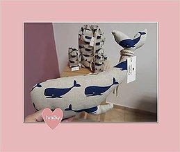 Hračky - veľryba - 10355123_