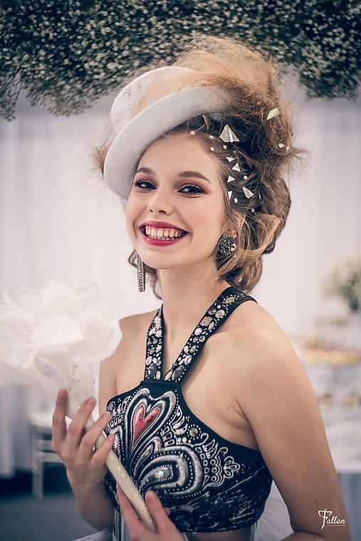 Maľované šaty NAJ NEVESTA 2019   zeiko - SAShE.sk - Handmade Šaty cf632cd567f