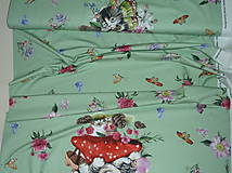 Textil - Mačiatka úplet digi panel - 10355077_