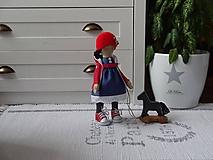Bábiky - Bábika Zuzka s koníkom - 10352408_