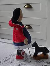 Bábiky - Bábika Zuzka s koníkom - 10352413_