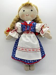 Bábiky - handrová bábika - Zuzka - 10355135_
