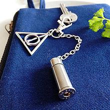 Doplnky - prívesok s nábojnicou Harry Potter - 10354800_