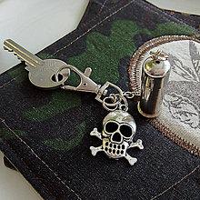 Doplnky - prívesok s nábojnicou Pirát - 10354914_