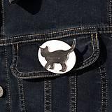 Odznaky/Brošne - Brošňa Mačka - 10353218_