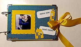Papiernictvo - Stavba domu - zápisník, album - 10351856_