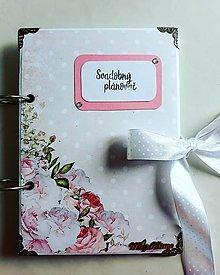 Papiernictvo - Svadobný plánovač - 10351806_