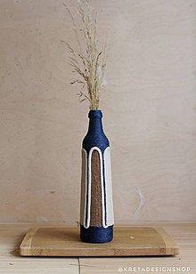 """Dekorácie - """"Reteia"""" zerowaste recyklovaná váza - 10354887_"""