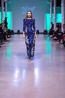 Šaty - Kolekcia Inšpirácie - modrotlač - 10351828_