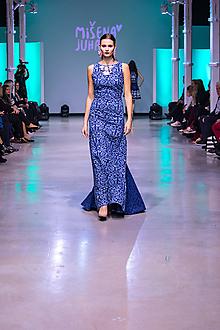Šaty - Kolekcia Inšpirácie - modrotlač - 10351891_