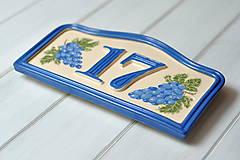 Tabuľky - Číslo domu z keramiky - 10354178_