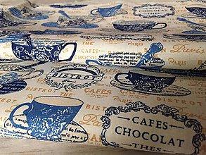 Úžitkový textil - utierky CAFES - 10352616_