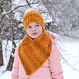 Šatky - Polárka ~ šatka - 10352786_