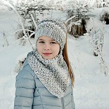 Detské doplnky - Polárka ~ šatka - 10352861_