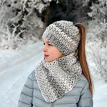Detské čiapky - Polárka ~ čiapka - 10352870_