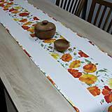 Úžitkový textil - SVETLANA - stredový obrus (170 cm x 40 cm) - 10353846_