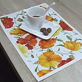 Úžitkový textil - SVETLANA - textilné prestieranie 28x40 - 10354856_