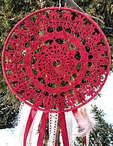 Dekorácie - Lapač snov Rutilus mandala - 10353444_
